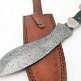 Handmade Steel Bolster Machete (kukri) Rosewood Handle