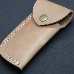 Damascus steel Knife Accessories Leather sheath