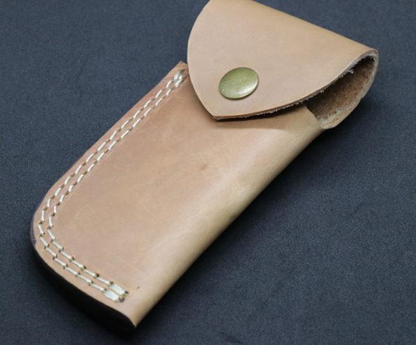 Damascus steel Knife Accessories Leather sheath