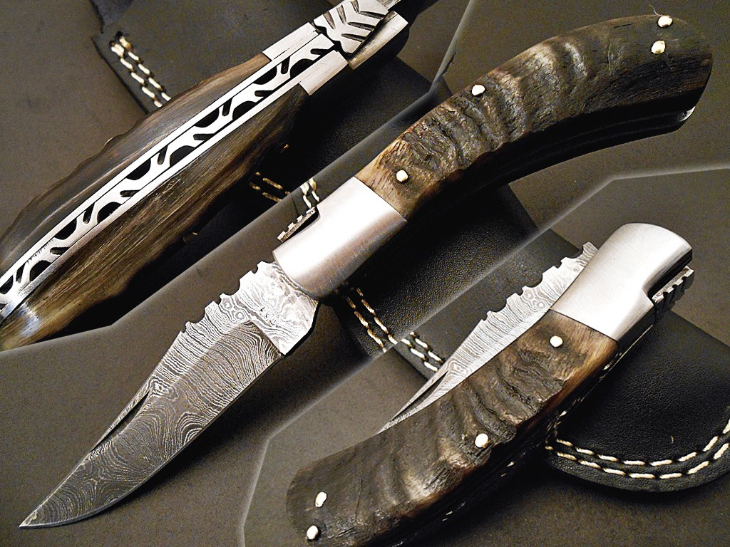 Damascus steel knife USA