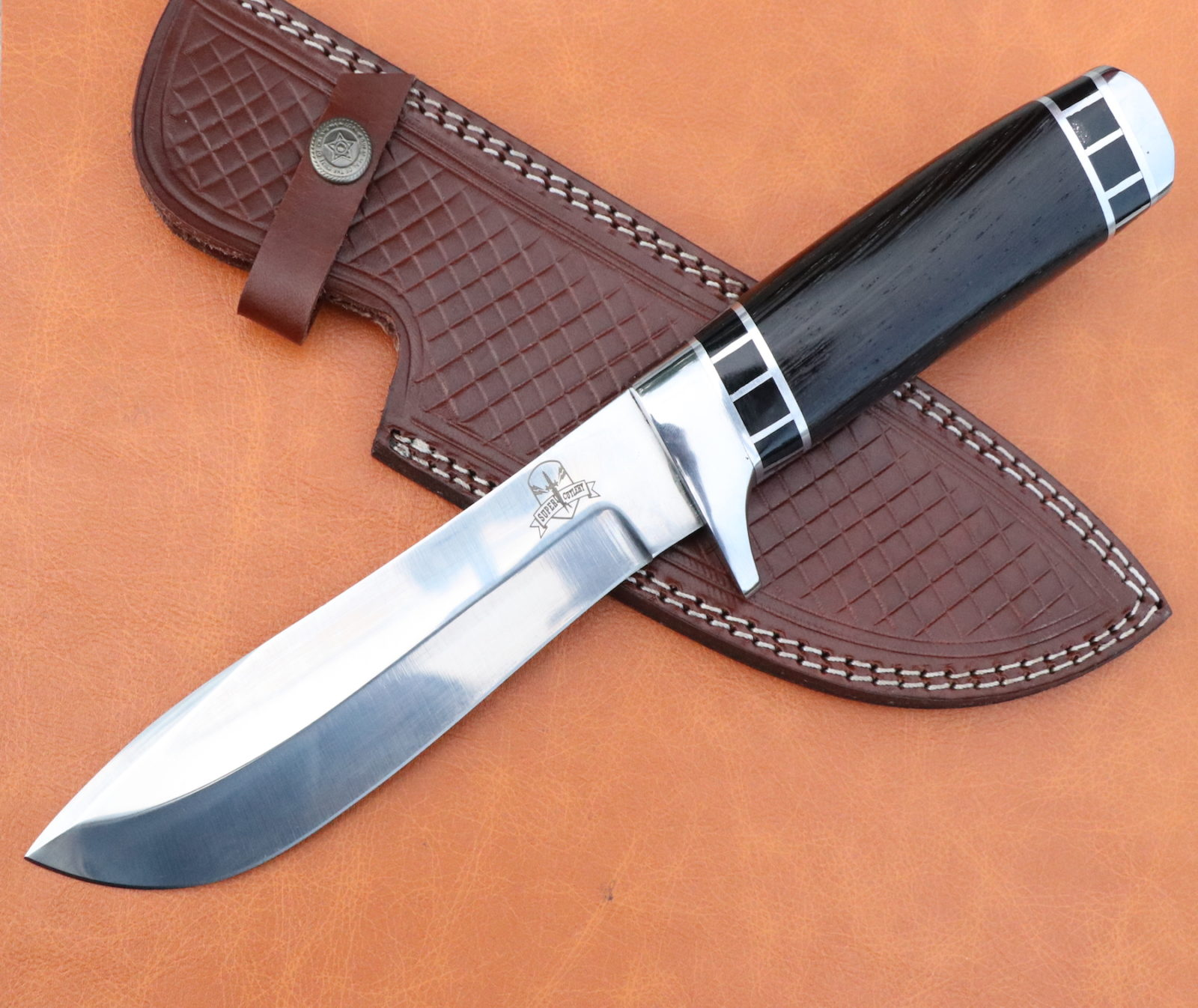 Handmade D2 Steel hunting knife