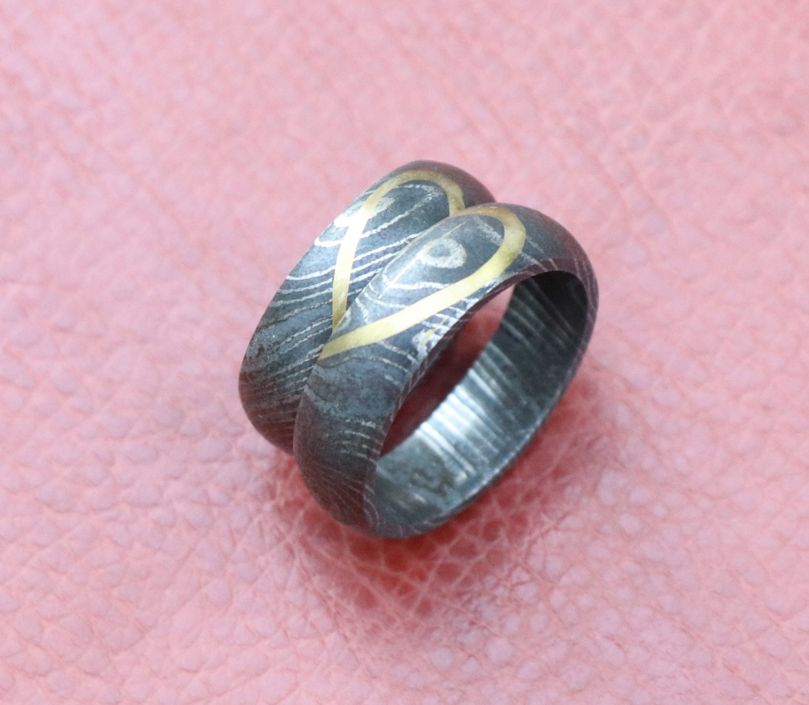 Damascus Wedding Band. Damascus Wedding Band. Mens Wedding Band In ...