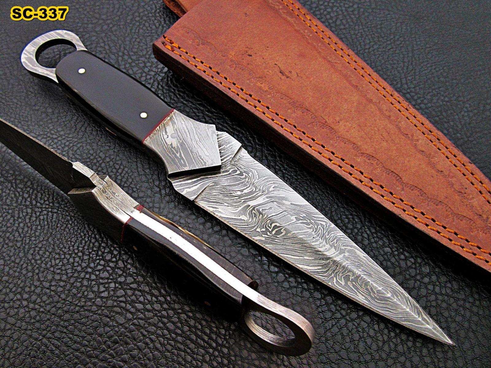 forged buffalo dagger