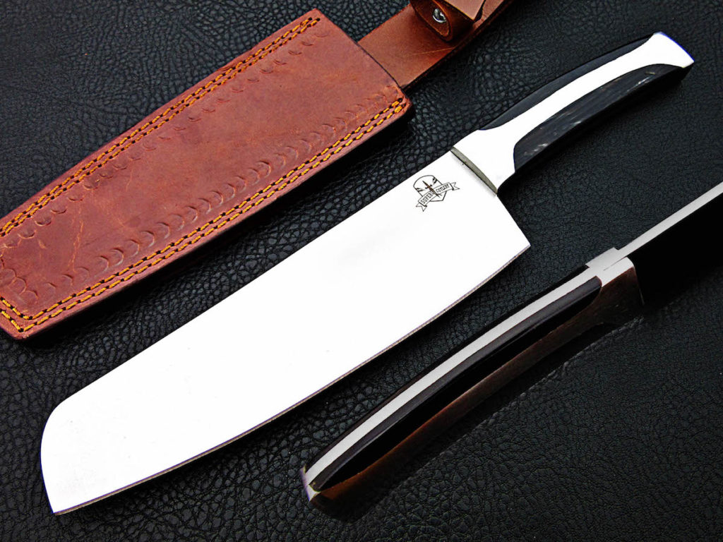 D2 steel chef knife