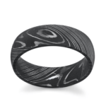 Damascus engagement ring
