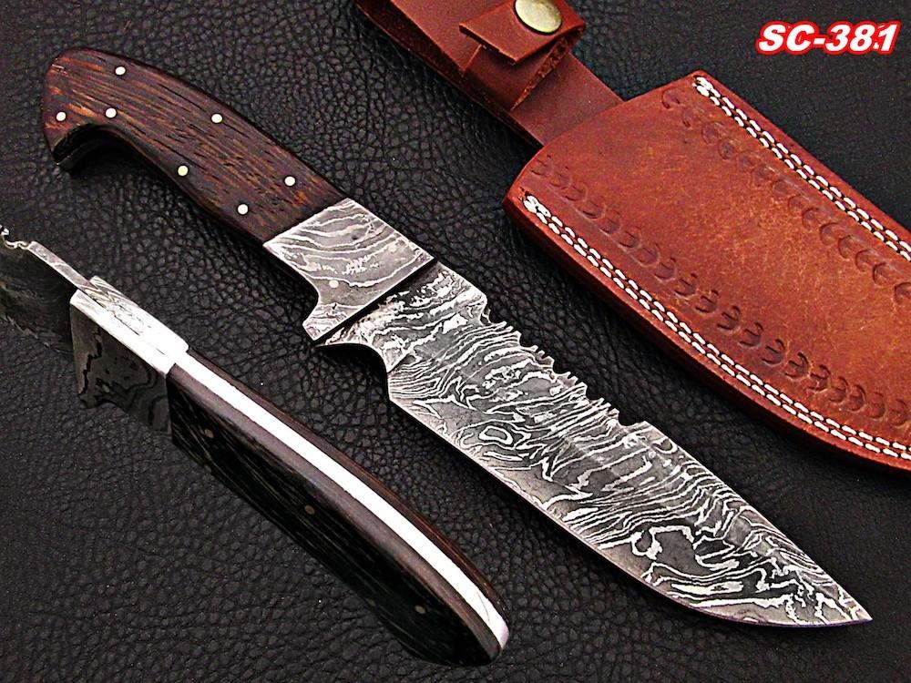 11″ Full Tang Damascus Knives