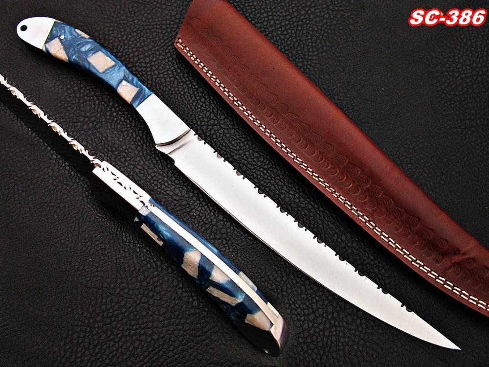 15″ Handmade Fillet D2 steel Knife