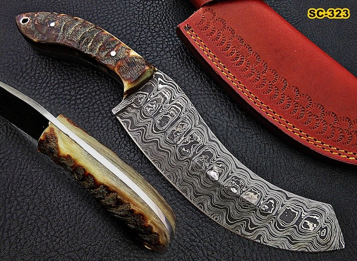 Damascus Steel Machete Knives