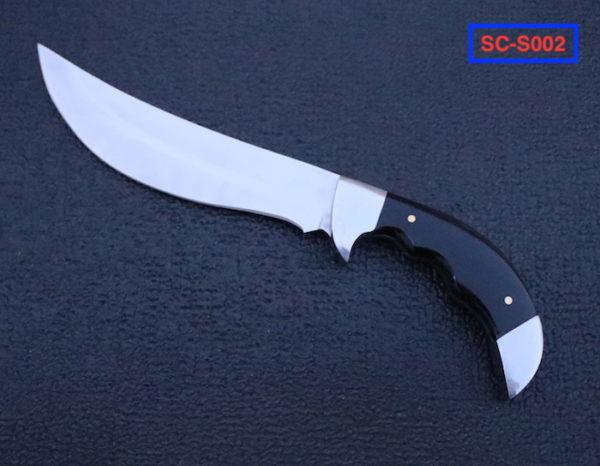 Hand Forged Full Tang D2 steel skinner