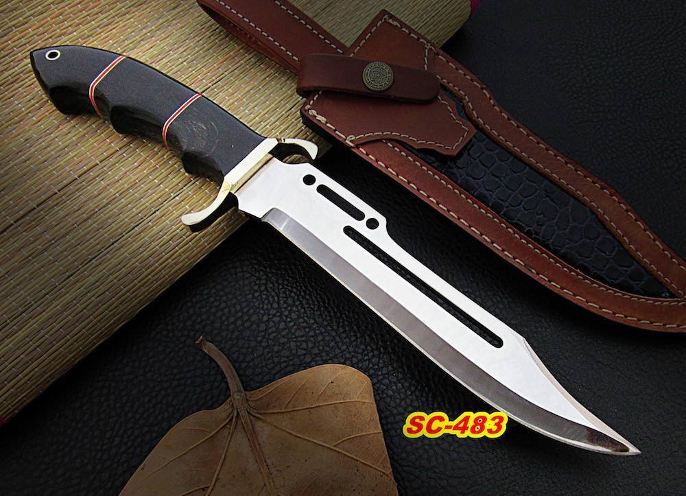13″ Hand forged D2 steel hunting knife