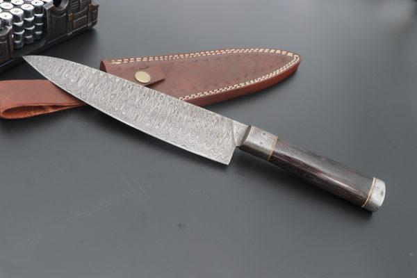 Damascus Steel kitchen knife