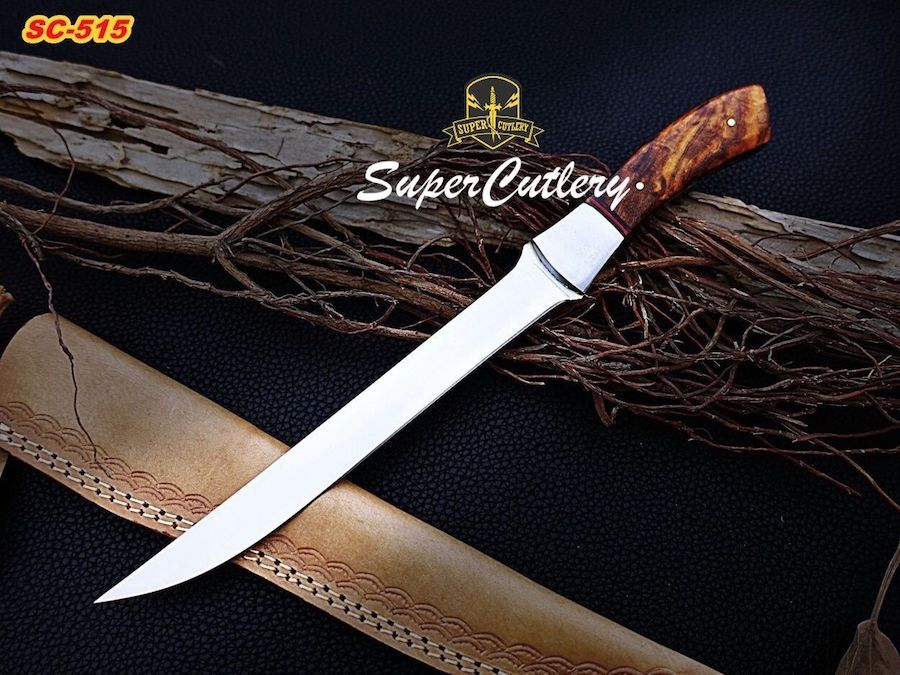 Handmade D2 steel Fillet knife fishing knives