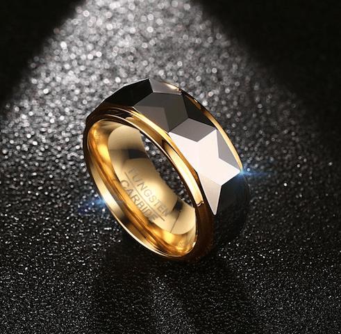 men Tungsten Carbide Wedding Ring
