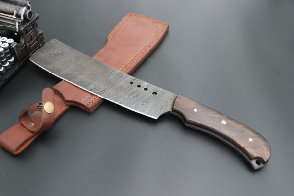 Damascus Steel chef knife cleaver