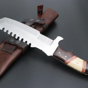 Hunting tracker knife D2 steel Tracker knife